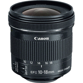 Обектив CANON EF-S 10-18mm f/4.5-5.6 IS STM