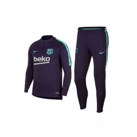 NIKE Мъжки спортен екип NIKE FC Barcelona purple training presentation tracksuit