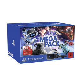 VR Шлем + Camera PS4 + 5 игри SONY PLAYSTATION 4 MEGA PACK